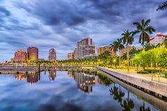 West- Palm Beach Florida Stock Afbeelding