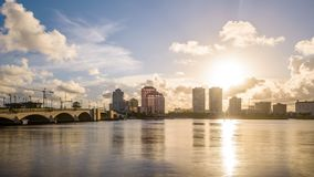 West Palm Beach, Florida, USA stock video footage