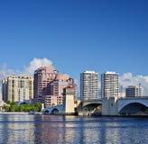 West Palm Beach horisont Arkivbild