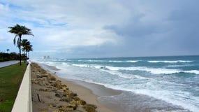 West Palm Beach Océano Atlántico Imagen de archivo