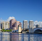 West Palm Beach Skyline Stock Photography
