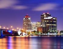 West Palm Beach Skyline stock photos
