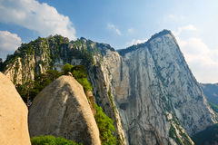 West peak_Hua mountain_shanxi_landscape Royalty Free Stock Photography