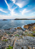 West Pentire in Cornwall Stock Photography