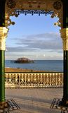 The West Pier in Brighton Stock Photos