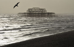 The West Pier, Brighton Stock Images