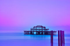 West Pier, Brighton Stock Image