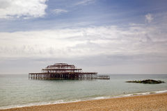 West pier in Brighton Royalty Free Stock Image