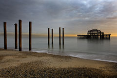 West Pier Brighton Stock Image