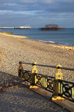 West Pier Brighton England Royalty Free Stock Photography