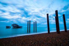 West Pier Brighton & Hove Royalty Free Stock Images