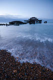 West Pier at Dawn Stock Photo