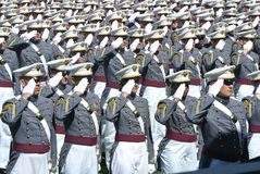 West Point Graduation 2015 Royalty Free Stock Photos