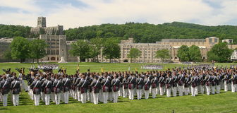 WEST POINT GRADUATION PARADE Stock Image
