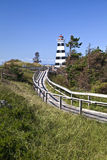 West Point-Leuchtturm, Prince-Edward-Insel Lizenzfreie Stockbilder