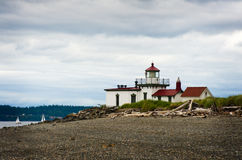 West Point Lighthouse stock photos