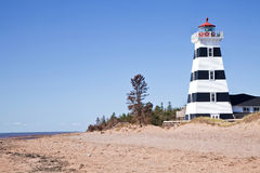 West Point Lighthouse, Prince Edward Island Royalty Free Stock Photo