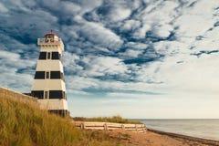 West Point Lighthouse. (Prince Edward Island, Canada stock image