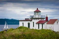 West Point Lighthouse. Stock Images