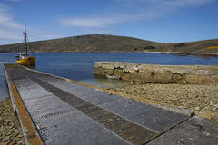 West Point Settlement in the Falkland Islands Stock Photos