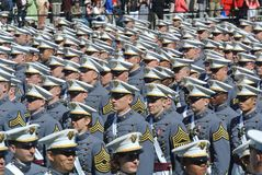 West Point-Staffelung 2015 stockfoto