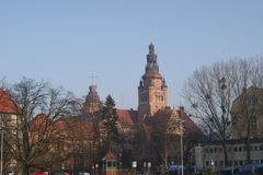 West Pomerania state government buildind Royalty Free Stock Images