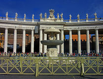 The west portal of St Peters Square Royalty Free Stock Photo