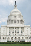 West Portico of United States Capitol Stock Image