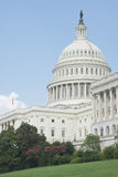 West Portico of United States Capitol Royalty Free Stock Photos