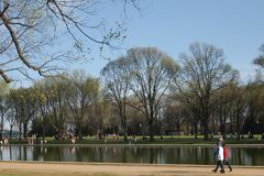 West- Potomac Park Royalty-vrije Stock Foto's