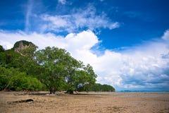 West Railay beach Royalty Free Stock Photos