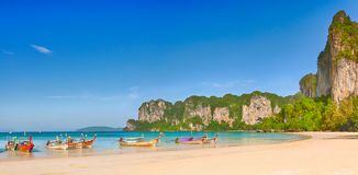 West Railay panorama Stock Photos