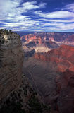 West Rim Trail of the Grand Canyon Stock Photography