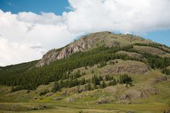 West Sayan Mountains Stock Photo