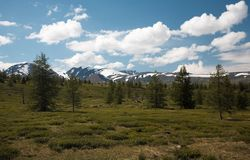 West Sayan Mountains Stock Photos