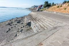 West Seatle Steps And Homes Stock Photo