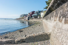 West Seattle Residences Royalty Free Stock Images