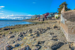 West Seattle Shoreline HDR. A view of the shoreline in West Seattle, Washington. HDR image Stock Images