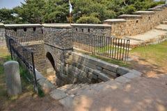 West Secret Gate of Sunwon Hwaseong Stock Photography