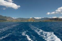 West Shore, Oahu stock image