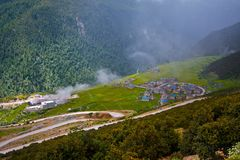 West-Sichuan-Landschaft Stockfotografie
