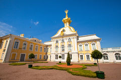 West side of Peterhof Palace Stock Images