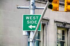 West Side sign Royalty Free Stock Photos