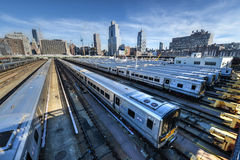 West Side Train Yard Stock Image