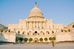 West side US Capitol Building Royalty Free Stock Photography