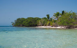 West Snake Caye Royalty Free Stock Photos