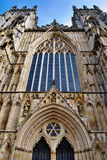 West Stained Glass Window York Minster Stock Photos