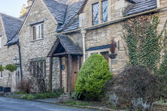 West street view in historic Castle Combe Stock Photo