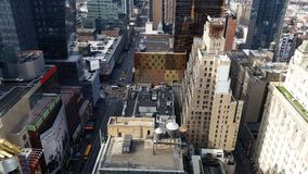 West on 42 street royalty free stock photo