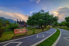 The sunset view wonderfull Indonesia Royalty Free Stock Image